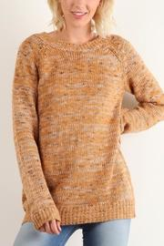Hem & Thread Relaxed Fit Sweater - Product Mini Image
