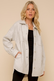 Hem & Thread Relaxed Shirt Jacket - Product Mini Image