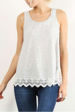 Hem & Thread Relaxed Striped Top - Product List Image