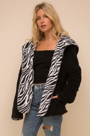 Hem & Thread Reversible Fleece Jacket - Product Mini Image