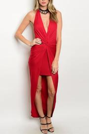 Hem & Thread Sexy Red Dress - Front cropped