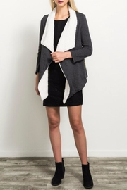 Hem & Thread Sherpa Lined Jacket - Front cropped