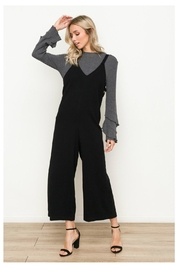 Hem & Thread Side Button Overalls - Product Mini Image