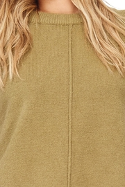 Hem & Thread Solid Swearter Dressy - Front full body