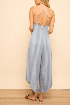 Hem & Thread Strappy Jumpsuit - Blue - Product List Image