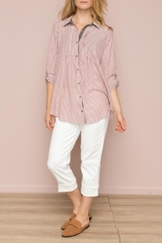 Hem & Thread Striped Button Down - Product Mini Image