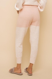 Hem & Thread Super Soft Colorblock Cozy Pants - Side cropped