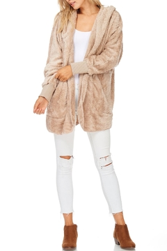 Shoptiques Product: Taupe Super Soft Hoody