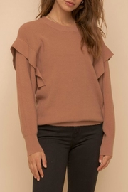 Hem & Thread Taylor Pullover Sweater - Front cropped