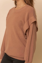 Hem & Thread Taylor Pullover Sweater - Back cropped