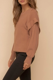 Hem & Thread Taylor Pullover Sweater - Side cropped