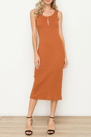 Hem & Thread Textured Scoop Midi - Product Mini Image