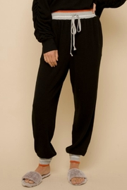 Hem & Thread Thora Knit Joggers - Product Mini Image