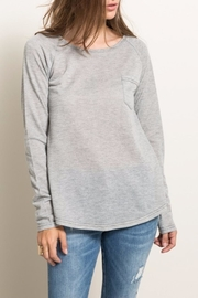 Hem & Thread Tie-Dye Back Sweatshirt - Product Mini Image