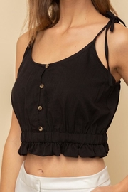 Hem & Thread Tied Together Top - Other