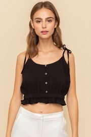 Hem & Thread Tied Together Top - Front full body
