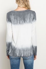 Hem & Thread Tiedye Ombre Top - Front full body