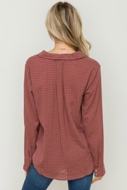 Hem & Thread Twisted Up Blouse - Side cropped