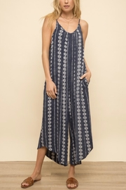 Hem & Thread Wide Leg Jumpsuit - Product Mini Image