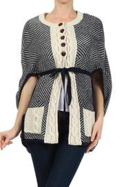 Hem & Thread Wool Capelet - Product Mini Image