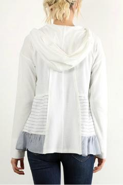 Shoptiques Product: Zip Hooded Top