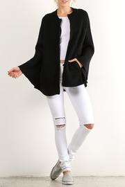 Hem & Thread Zip Sweater Cape - Product Mini Image