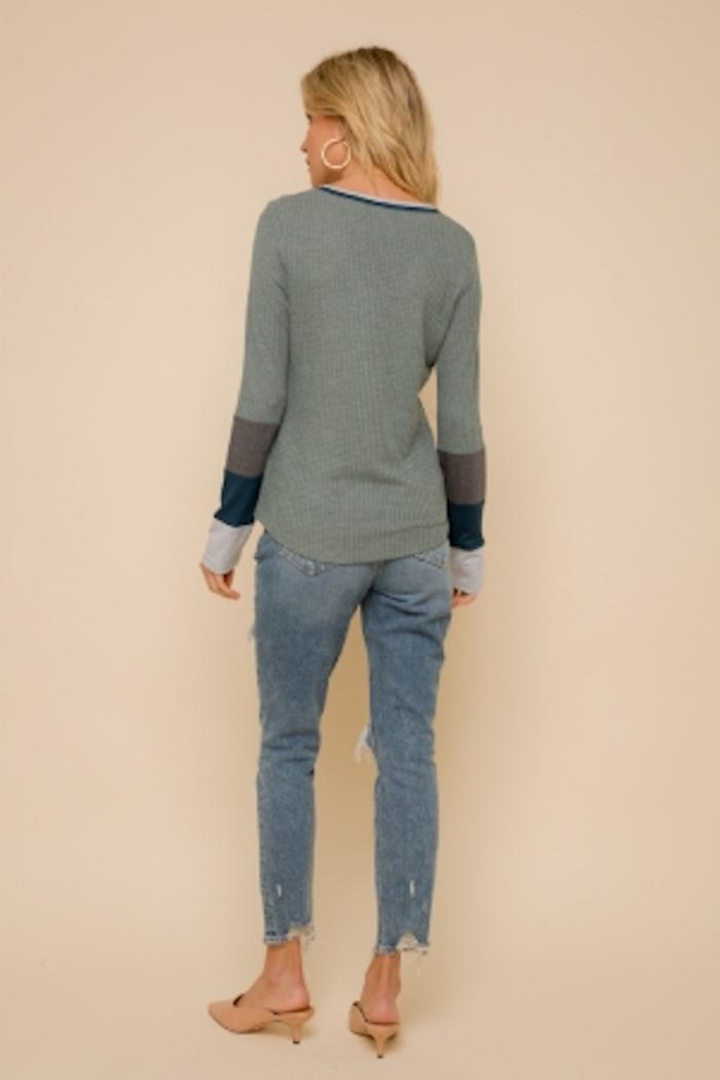 Hem and Thread Washed Out Thermal - Front Full Image