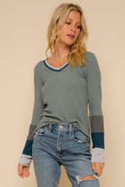 Hem and Thread Washed Out Thermal - Side cropped