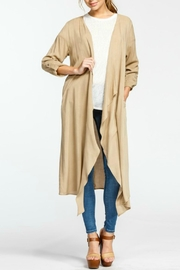 Cherish Hemingway Pocketed Duster - Product Mini Image