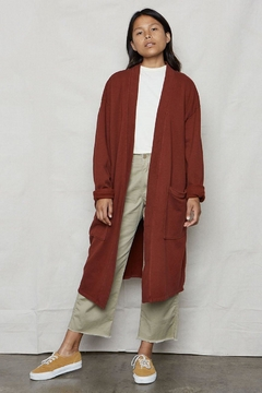 Back Beat Rags Hemp Sweater/robe - Product List Image