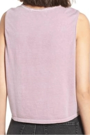 Junkfood Hendrix Cropped Tank - Front full body