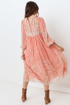 Spell and the Gypsy Hendrix Dress dusty pink - Alternate List Image