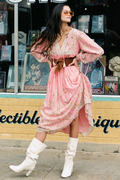 Spell and the Gypsy Hendrix Dress dusty pink - Product List Image