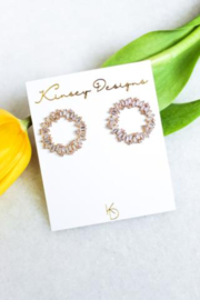 Kinsey Designs Hendrix Full Circle Earring - Front cropped
