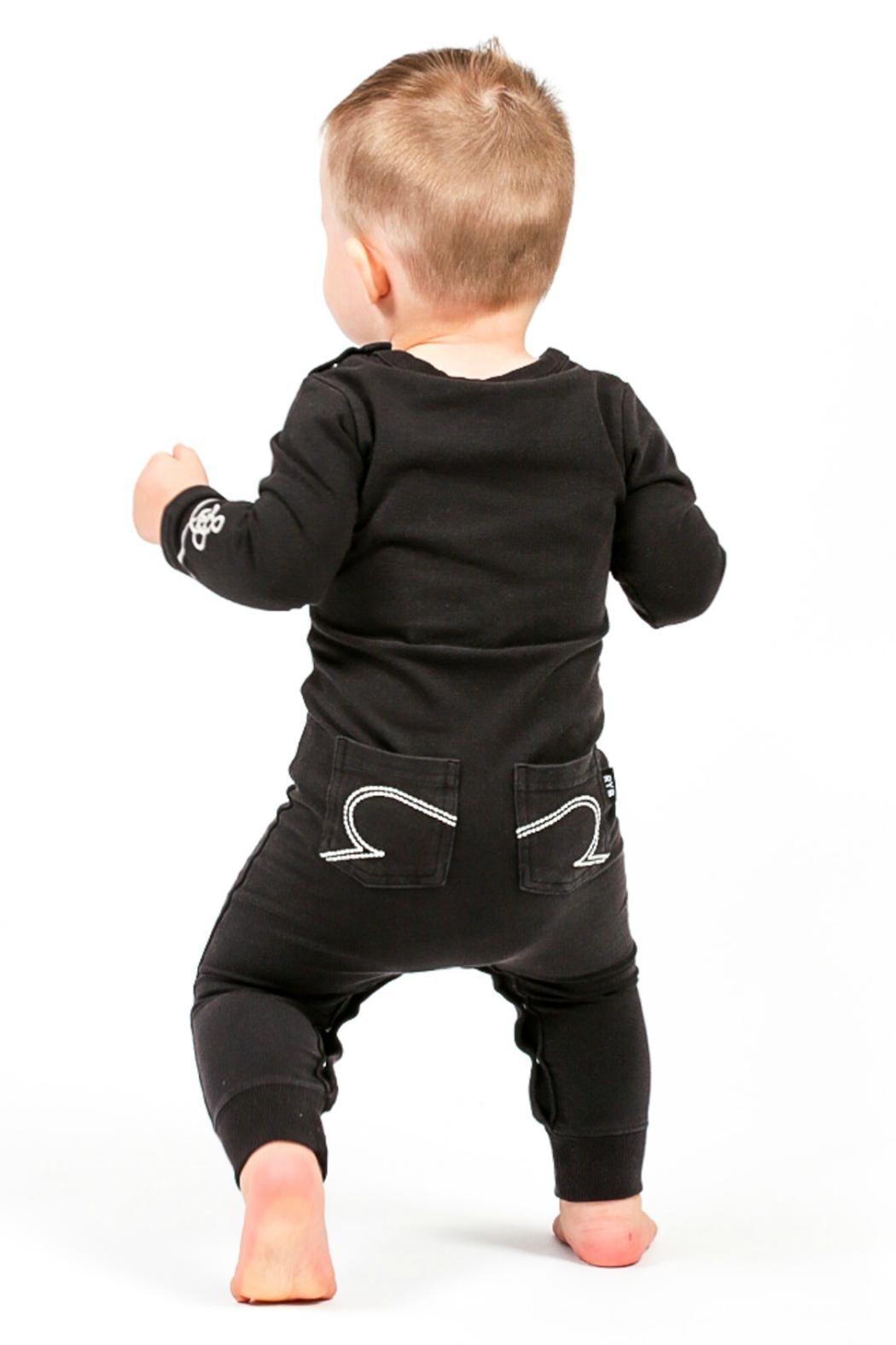 Rock Your Baby Hendrix Playsuit - Front Full Image