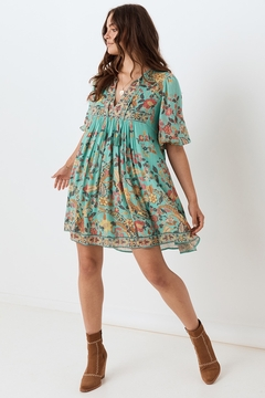 Spell and the Gypsy Hendrix Tunic Dress - Sky - Alternate List Image