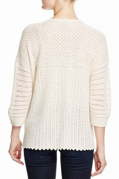 French Connection Hendy-Crochet Jumper Sweater - Alternate List Image