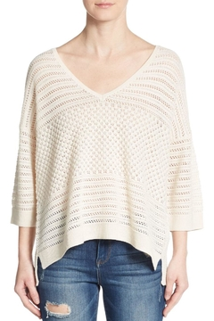 French Connection Hendy-Crochet Jumper Sweater - Product List Image