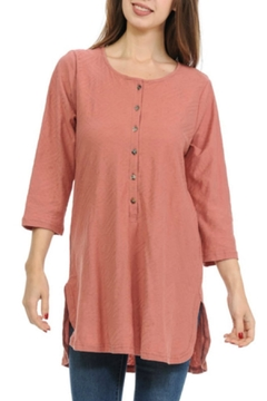 Shoptiques Product: Henley Cotton Tunic
