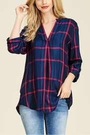 Staccato Henley Plaid - Product Mini Image