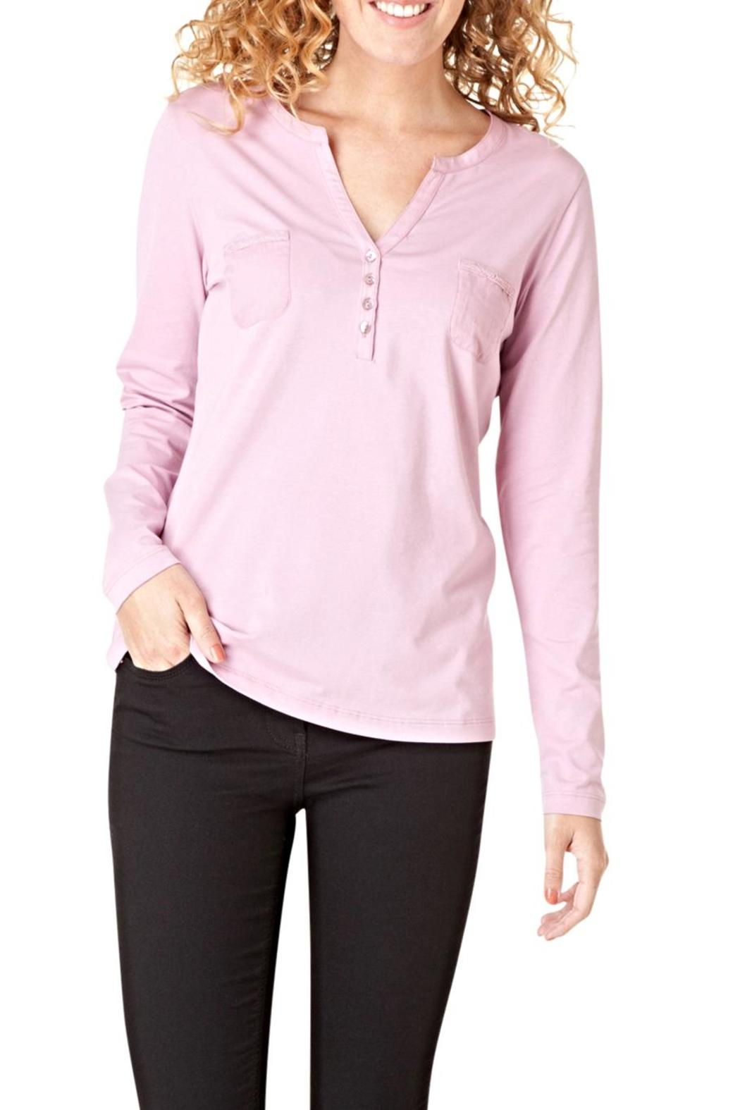 Henley Pocket Top - Front Cropped Image
