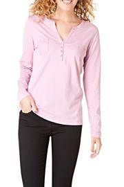 Henley Pocket Top - Front cropped