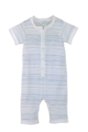 Feather Baby Henley Romper - Product Mini Image