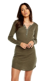 Chaser Henley Snap Dress - Product Mini Image