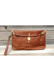 Fredd & Basha Henri Leather Wristlet - Product Mini Image