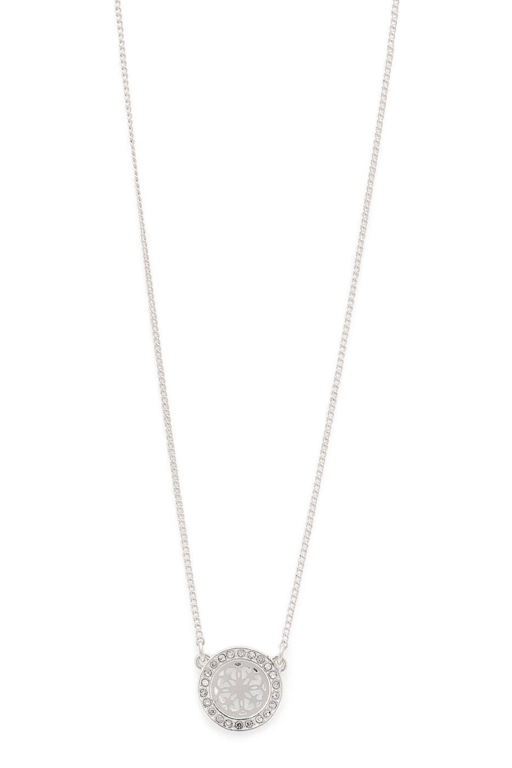 Pilgrim Henrietta Silver-Plated Necklace - Side Cropped Image