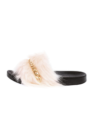 Henry Ferrera Fur Chain Slide - Product Mini Image