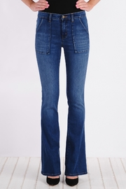 Henry & Belle High Waisted Flare Jeans - Product Mini Image