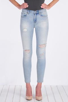Shoptiques Product: High Waised Skinny Madison Jean