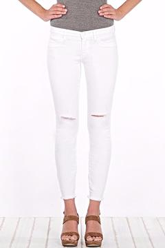 Henry & Belle Ankle Skinny White Jean - Product List Image